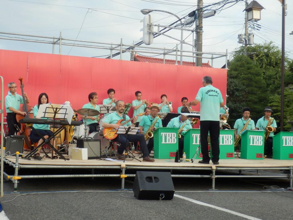 TOYOSAKA Big Band@第14回豊栄商店街まつり20140726